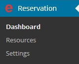 easyReservation WordPress Options