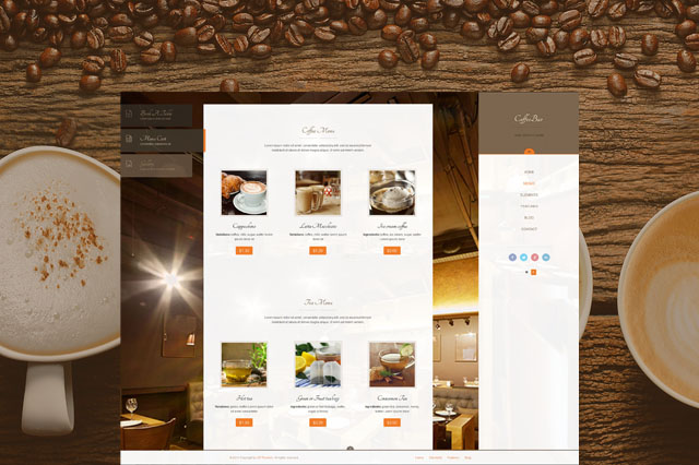 CoffeeBar Theme