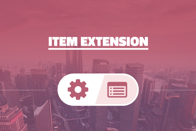 Item Extension
