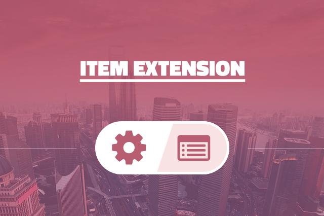 Item Extension