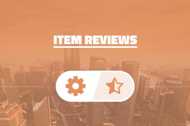 Item Reviews