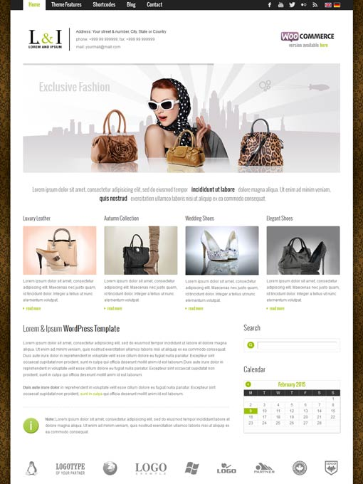 Premium Wordpress Themes Multilingual And Completely Translated To