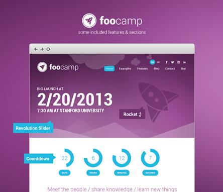 Diseño Foocamp