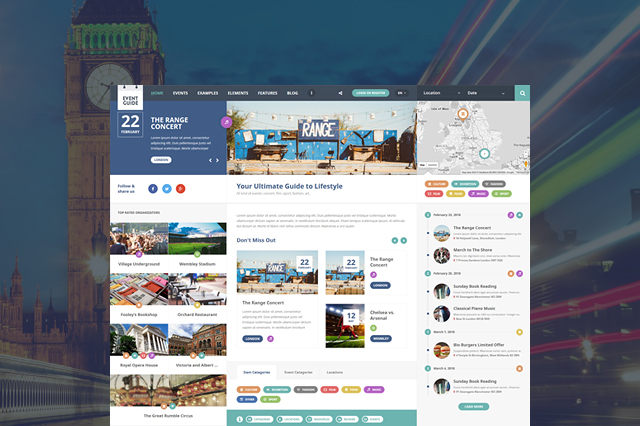 Guesthouse WordPress Theme | Theme for Hotels and Sports