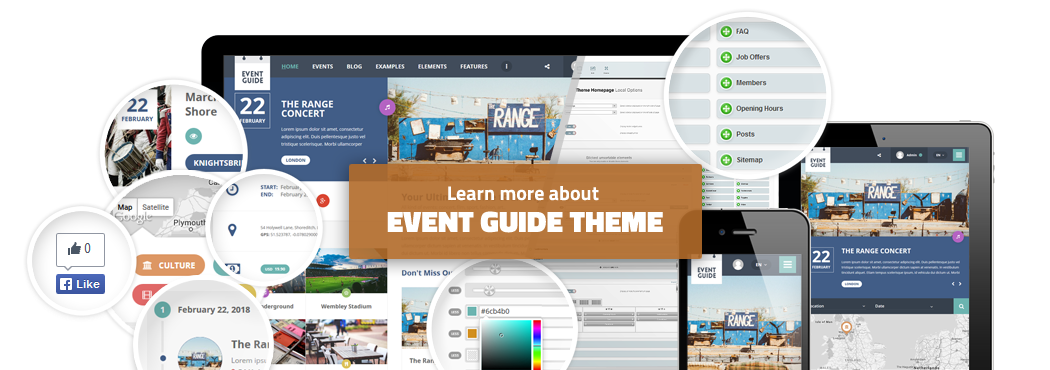 View Event Guide product page
