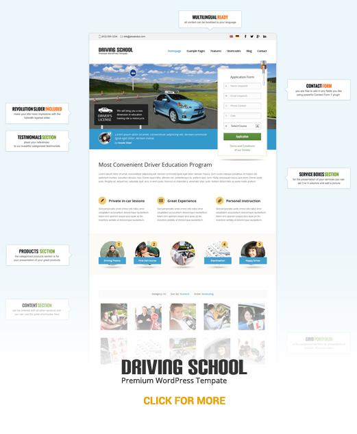 Drivingschool схема