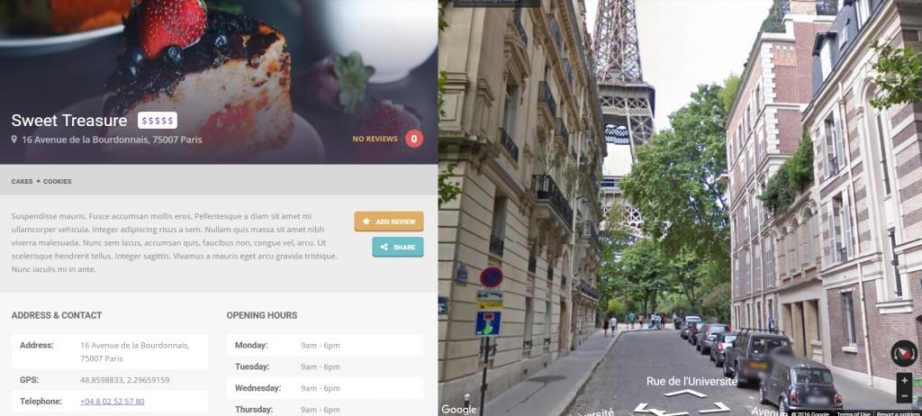 FoodGuide - Streetview