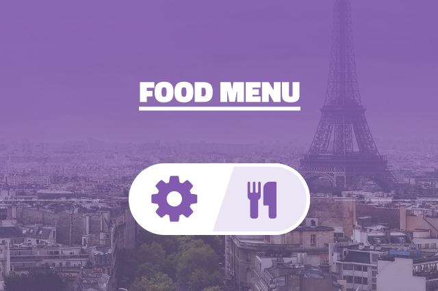 Meniu alimentar