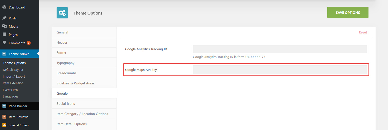 Google Maps API Error AitThemes - Google maps themes