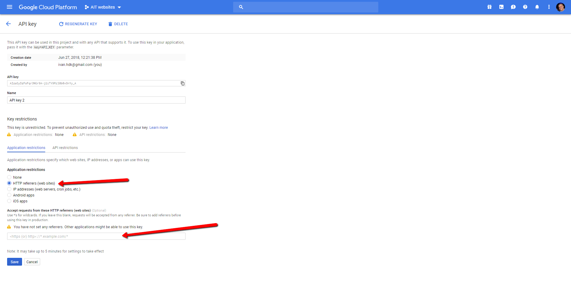 Google Maps doesn't work even with inserted API key | AitThemes