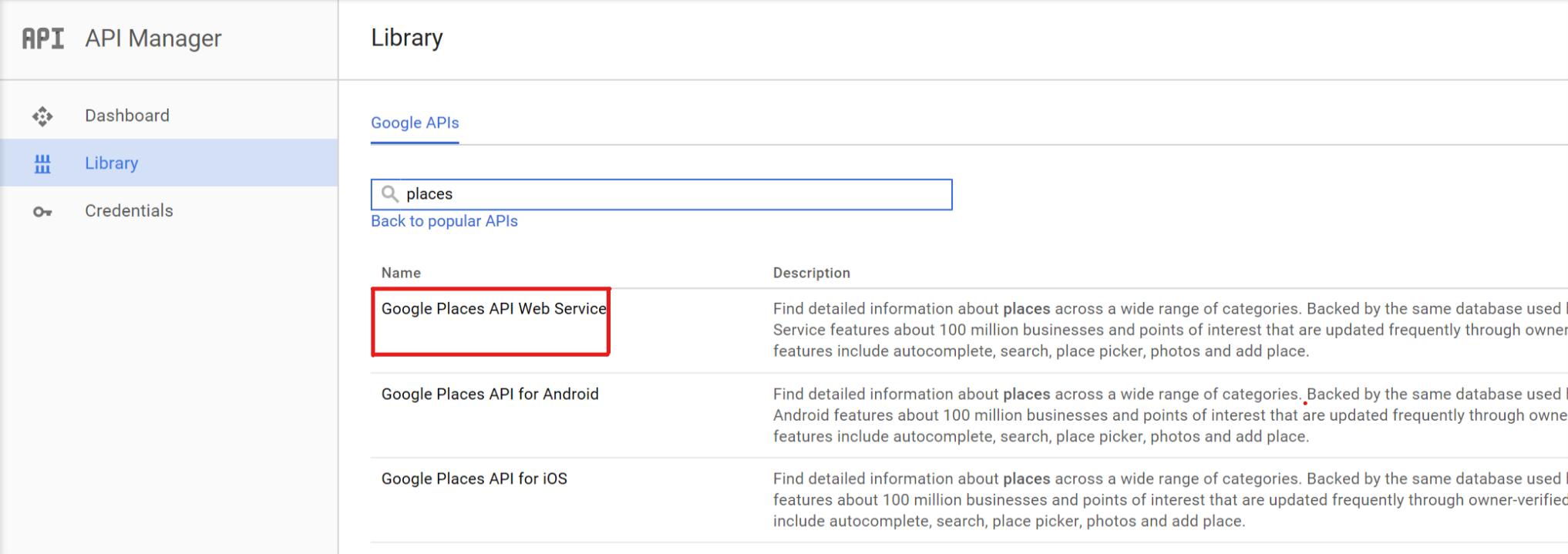 Google Places API Key | AitThemes