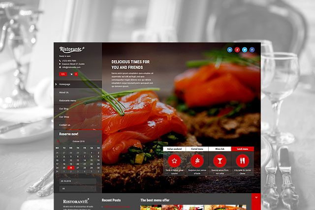 Ristorante AitThemes - Restaurant template wordpress