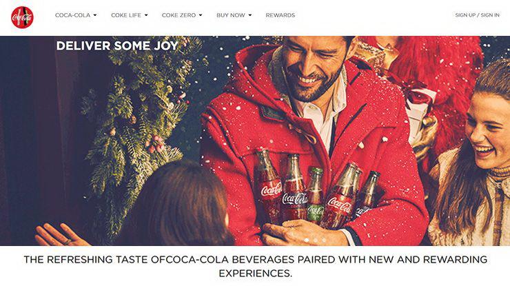 coca cola web