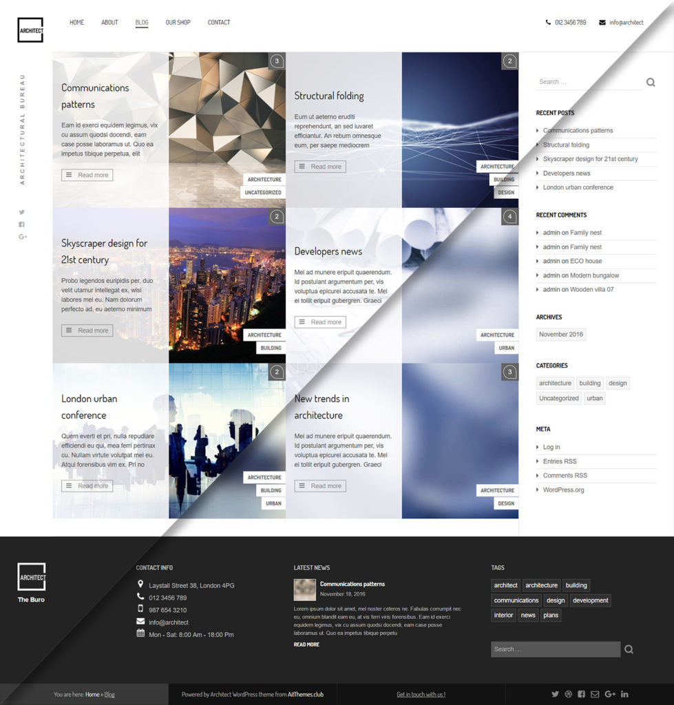 Architect Free Theme