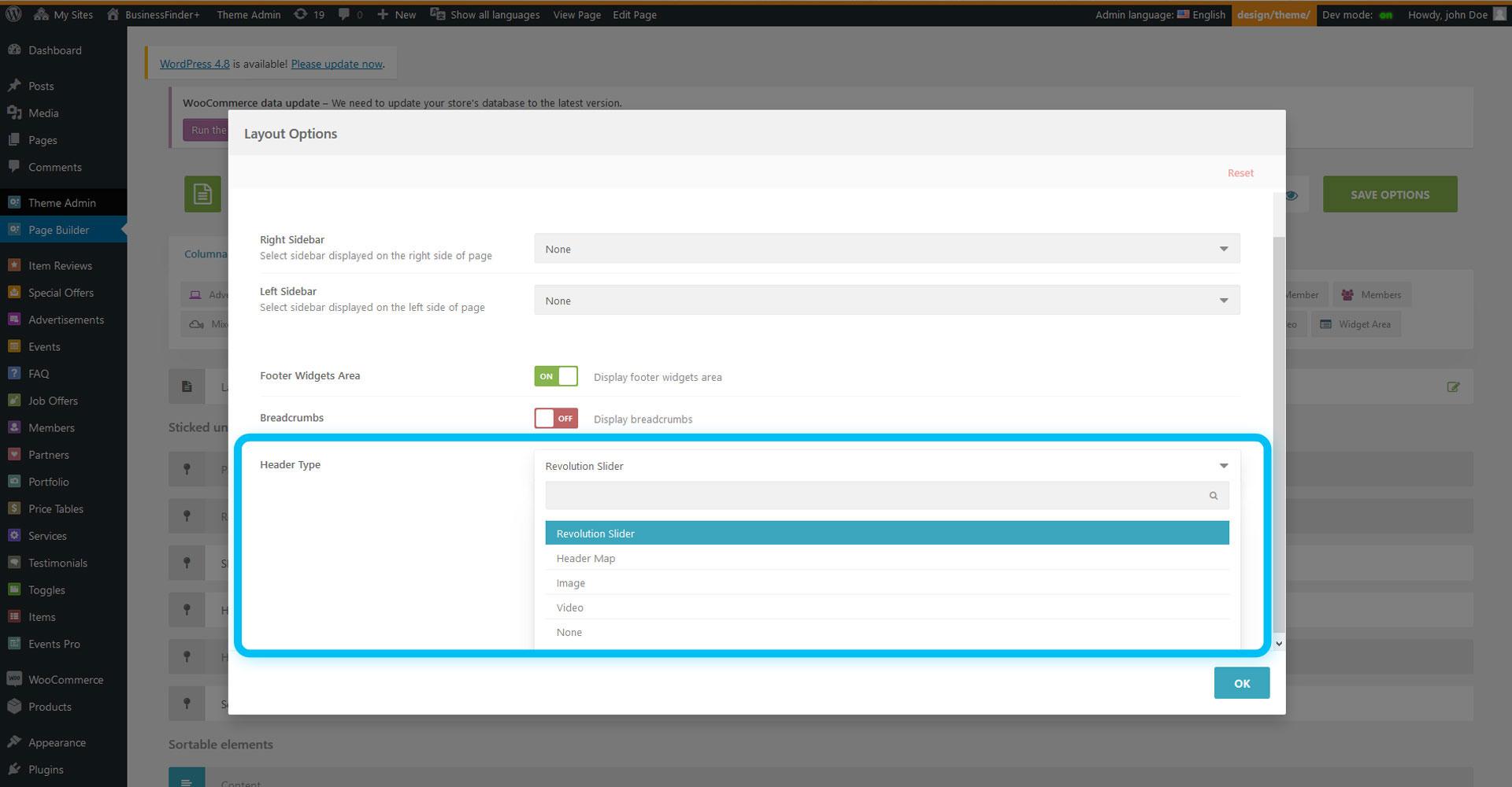 Revolution Slider adds dynamics to your WordPress Theme