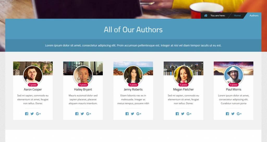 Authors Element