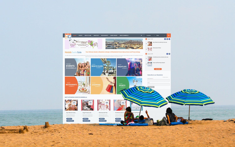 Marbella homepage