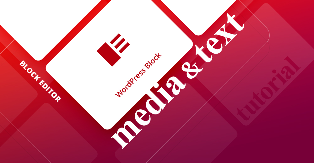 Media & text WordPress block