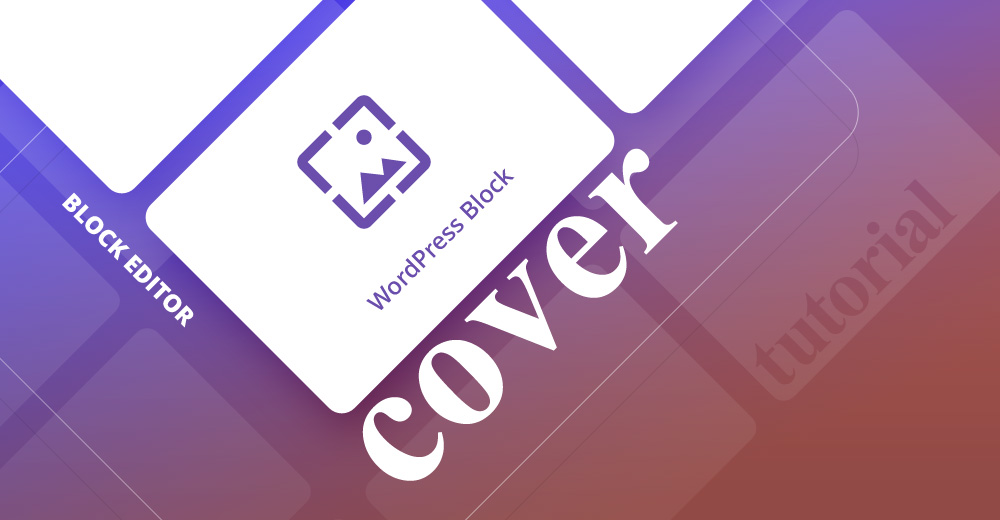Cover WordPress block