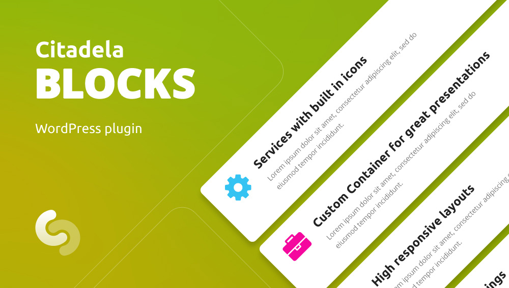 Citadela Blocks WordPress Plugin