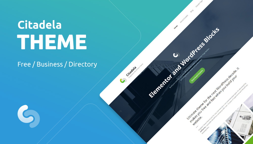 Citadela Free & Premium WordPress Theme