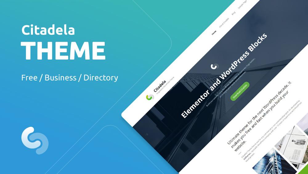 Citadela Free & Premium WordPress Theme
