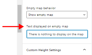 Show notification on directory map