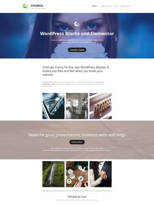 Citadela WordPress Theme