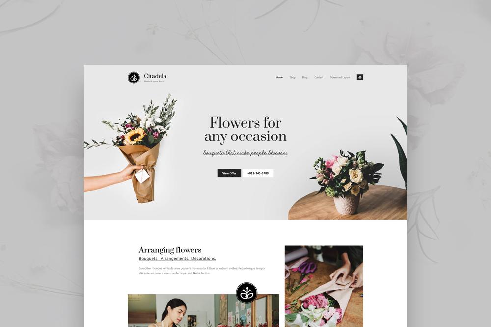 Get a FREE Florist layout for Citadela