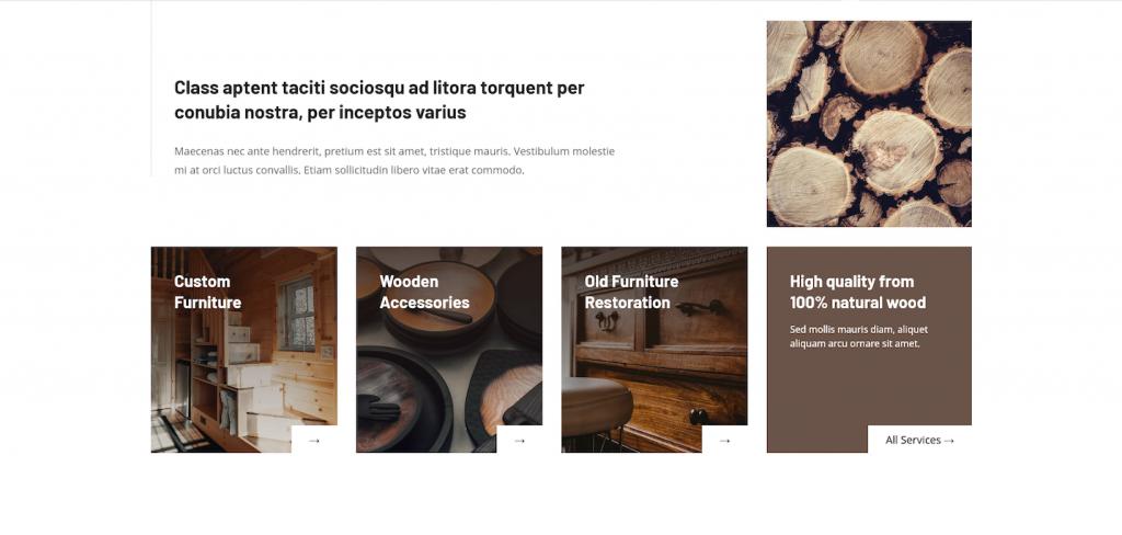 Craftsman website categories