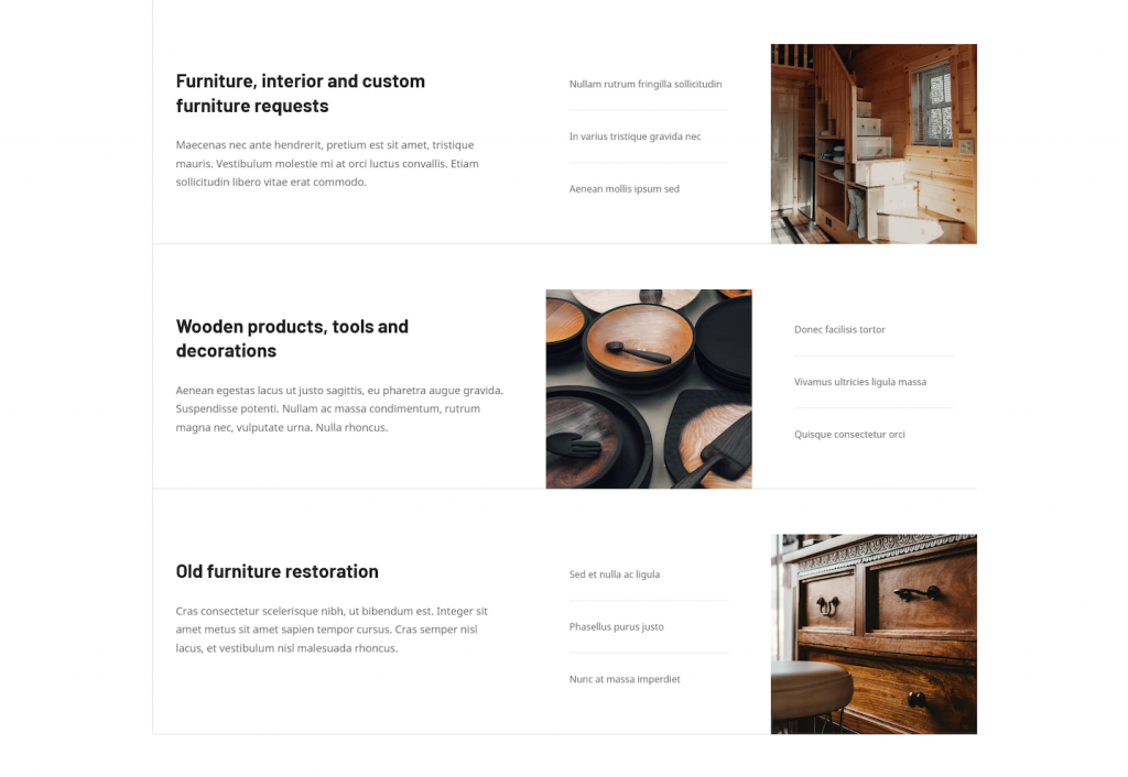 Craftsman WordPress theme services