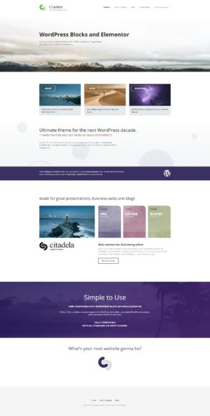 Homepage Advanced