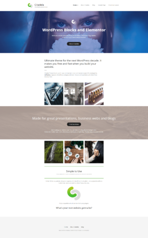 Homepage Basic